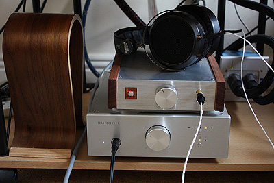 Hi-End Headphone Amplifier and HiFiMan HE500